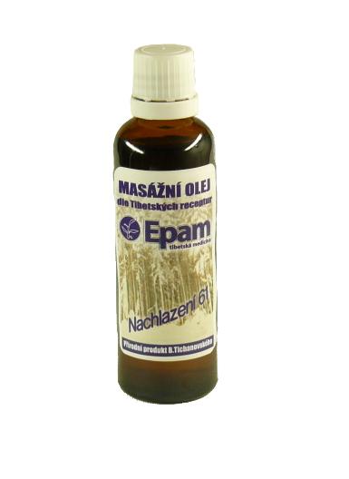EPAM Masážny olej EPAM 61 zmes, 50 ml