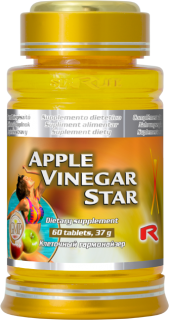 APPLE CIDER VINEGAR, 60 tbl
