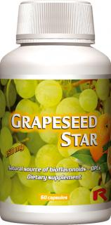 GRAPESEED STAR, 60 cps